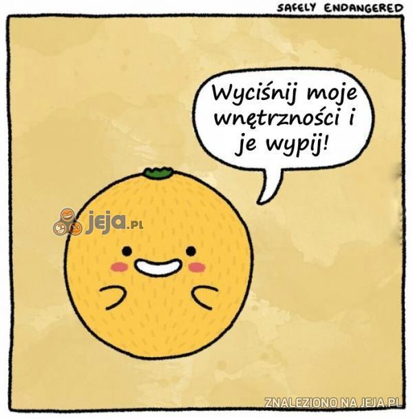 Przerażająca pomarańcza