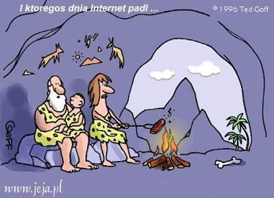 Świat bez internetu