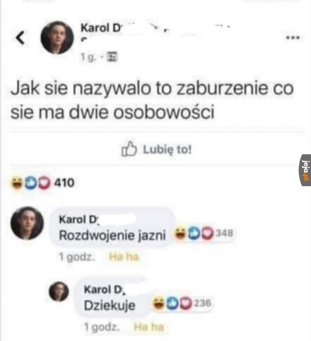 Dostał odpowiedź