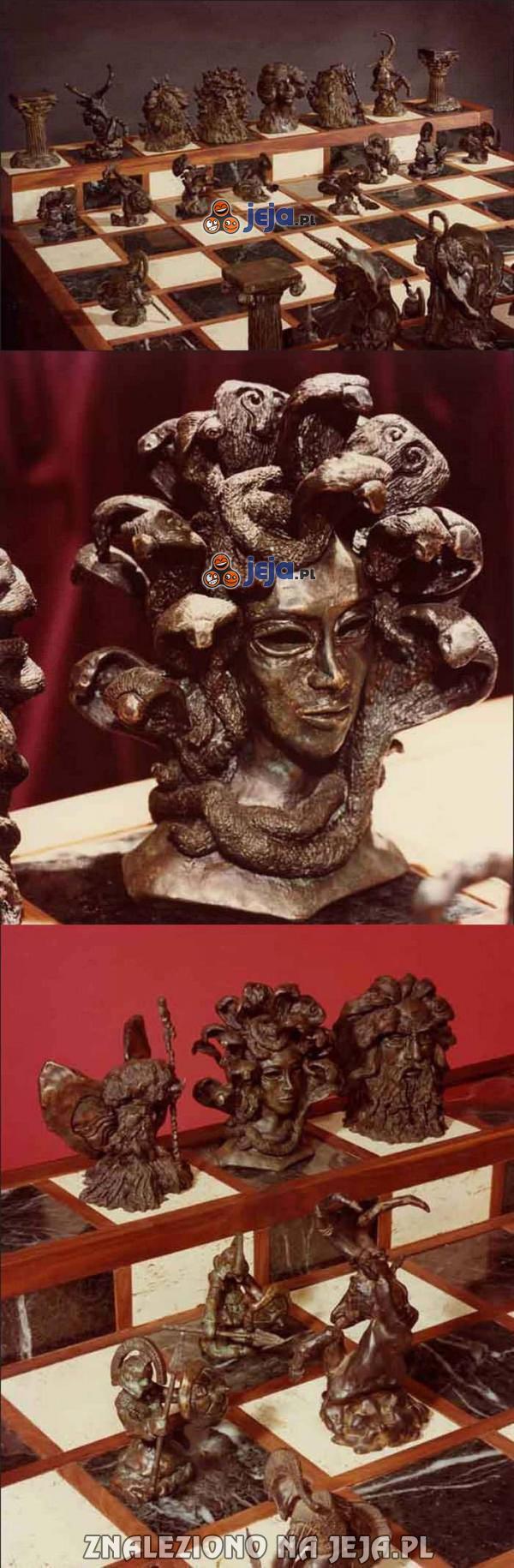 Szachy inspirowane mitologią grecką