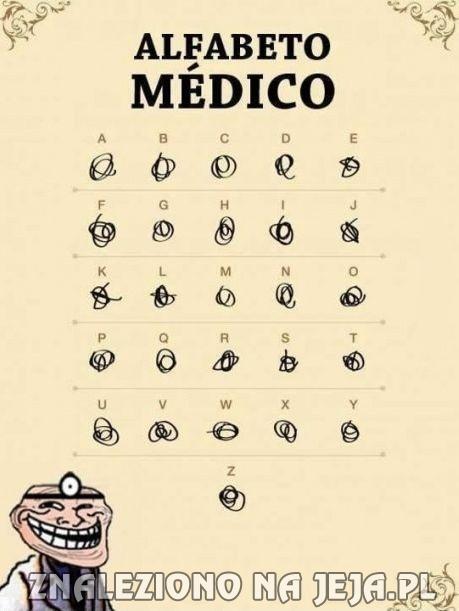 Alfabet lekarzy