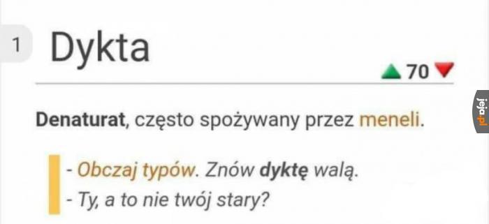 Ze słownika miejskiego