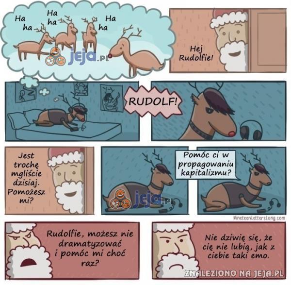 Dla Rudolfa świat jest zły