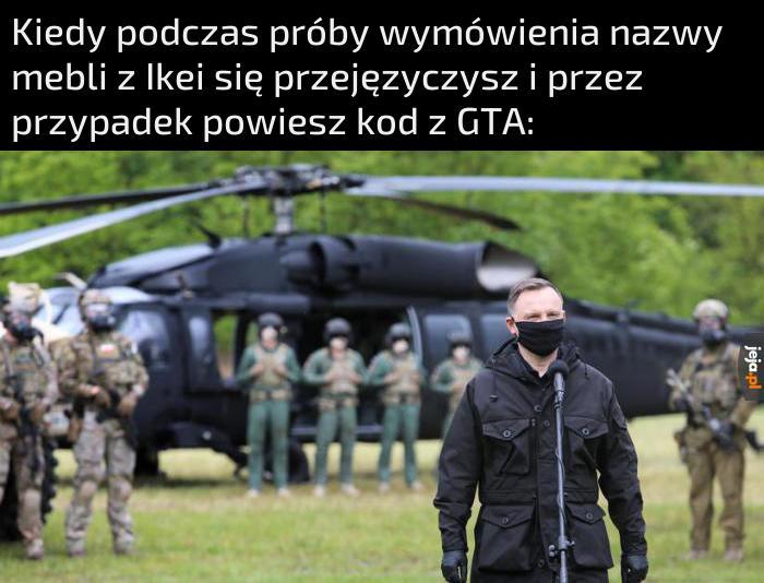 Helikopter już czeka
