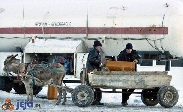 Ruska technologia transportu gazu