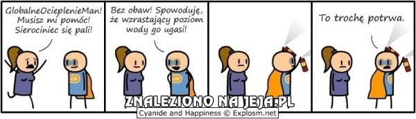 Cyanide & Happiness - GlobalneOcieplenieMan!