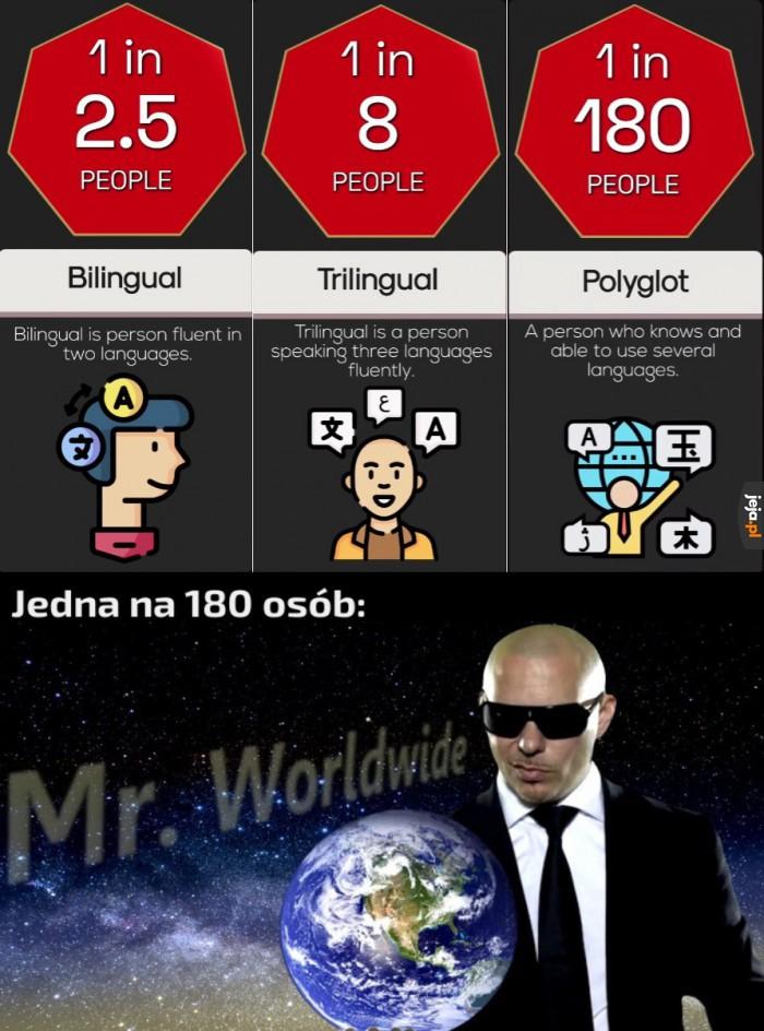 A Ty w ilu językach mówisz?