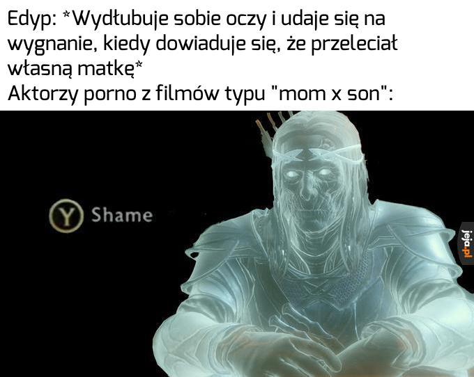 Co by nie mówić wstyd