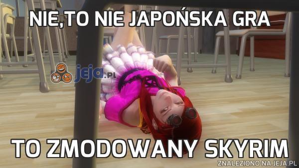 Nie,to nie japońska gra