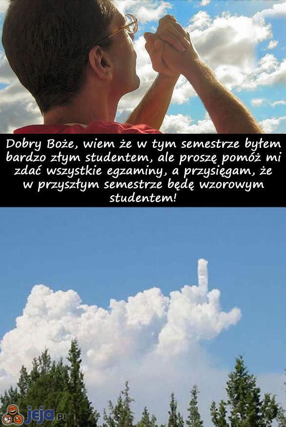 Modlitwa studenta