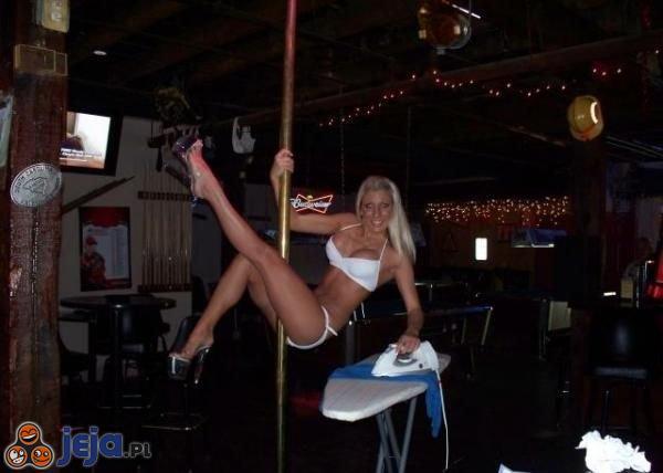 Prasowanie i striptiz