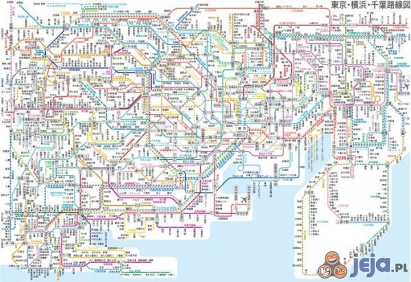 Mapa metra Tokio