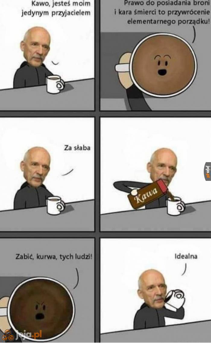 Kawa dla Janusza