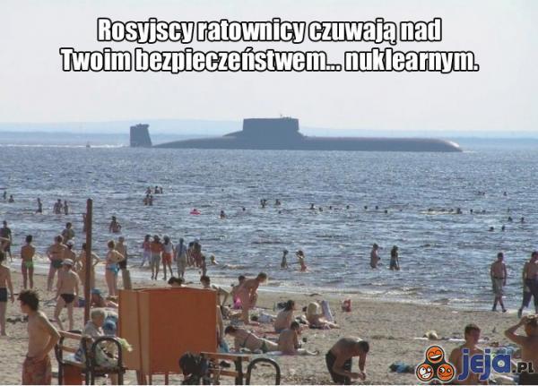 Plażowanie w Rosji jest bardzo bezpieczne