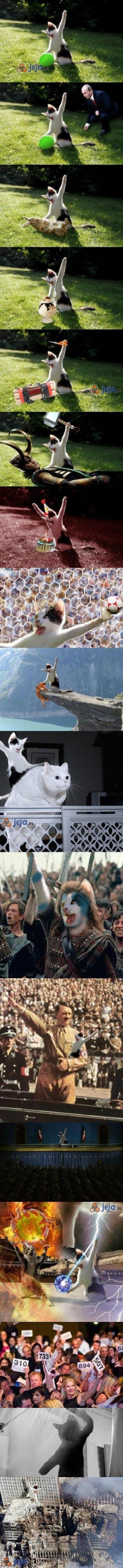 Przeróbka kota z balonem cz.2