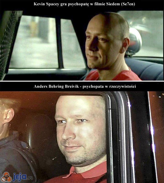 Anders Breivik vs Kevin Spacey