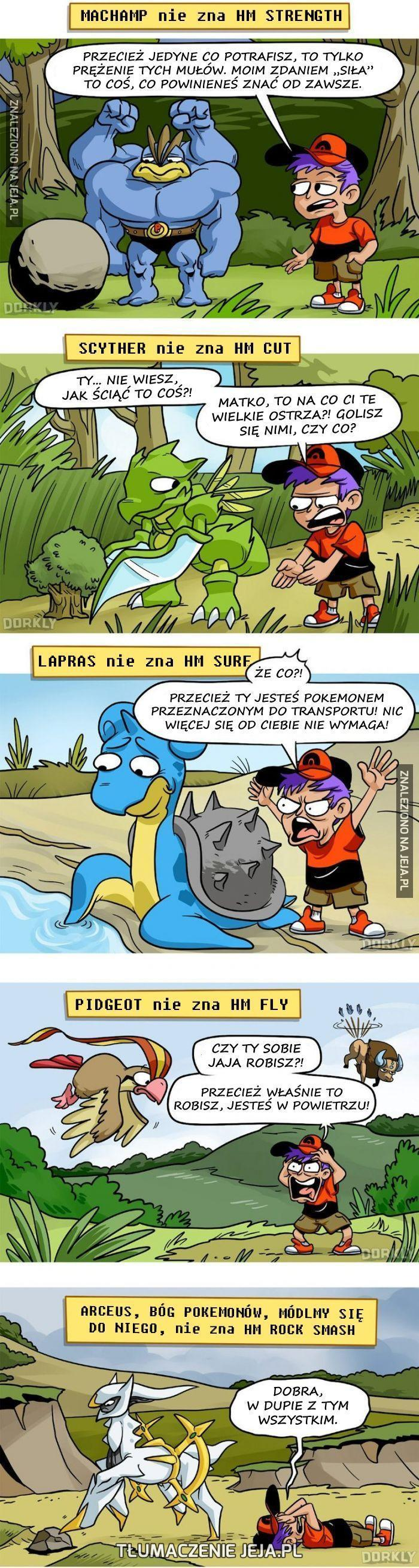 Każdy Pokemon jakiś wybrakowany