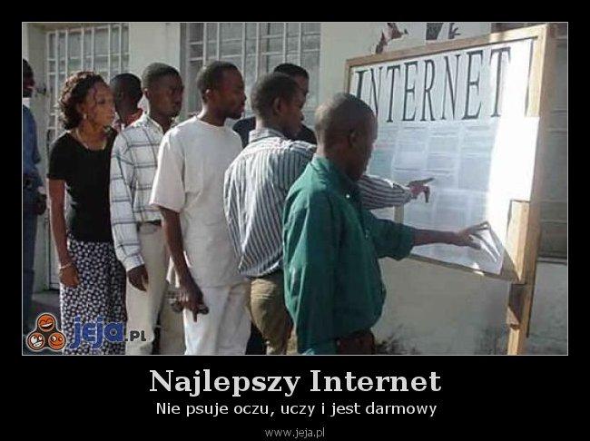Najlepszy Internet