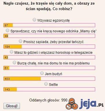 Kolejna bezsensowna ankieta