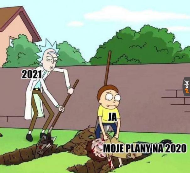 Właściwie to jeden plan, ale miałem tylko ten