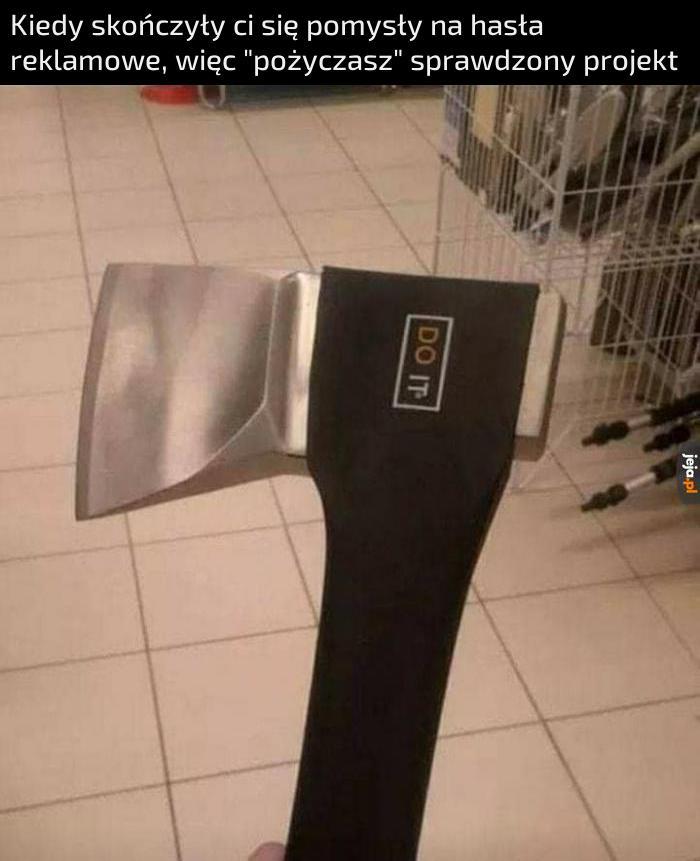 Niezbędne narzędzie każdego drwala