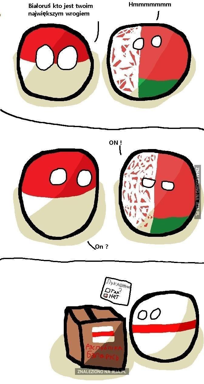 Największy WRÓG Białorusi