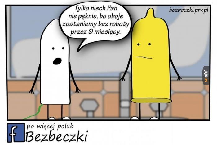 Tampon i kondom