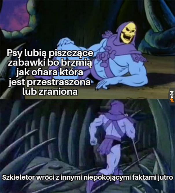 Najnowsze fakty Szkieletora