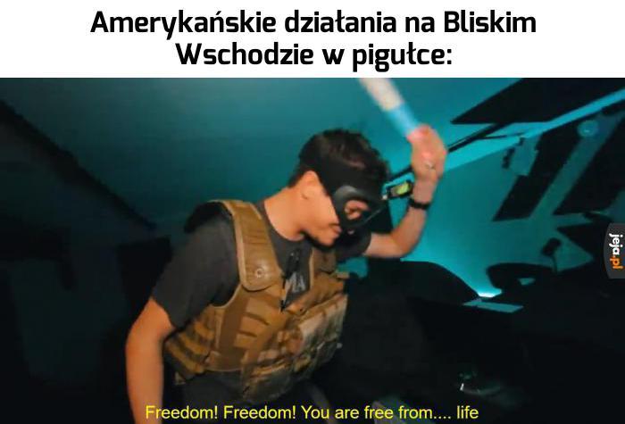 Wincyj wolności! Wincyj demokracji!