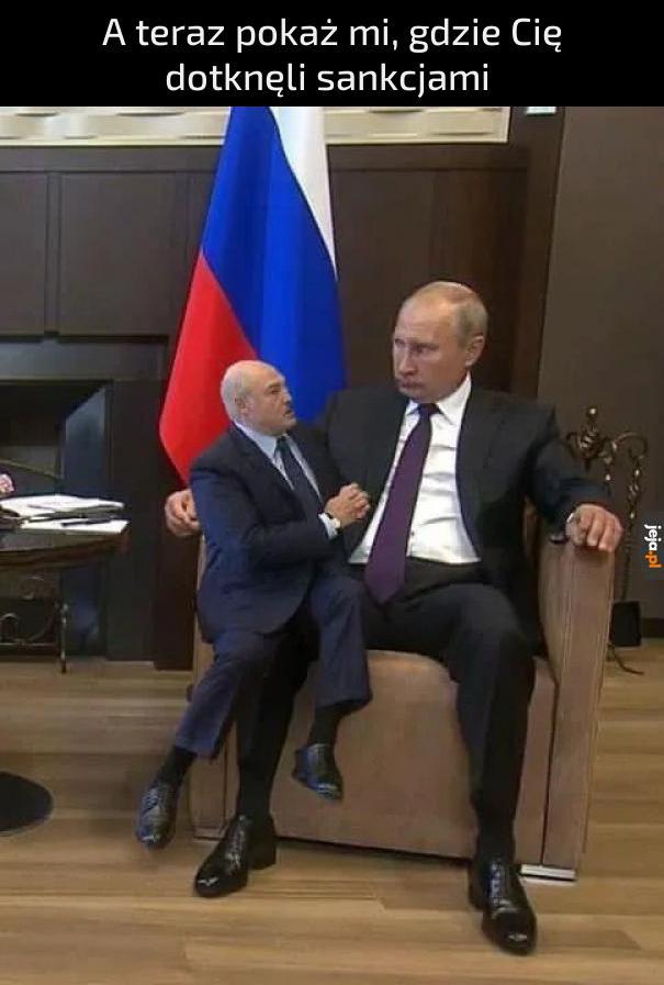 Proszę Pana, oni mi grożą sankcjami ;(