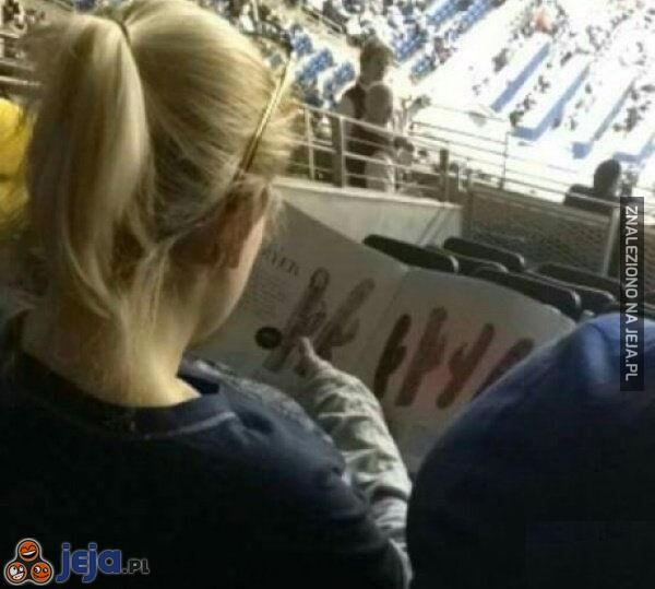Kiedy mecz bardzo Cię nie interesuje