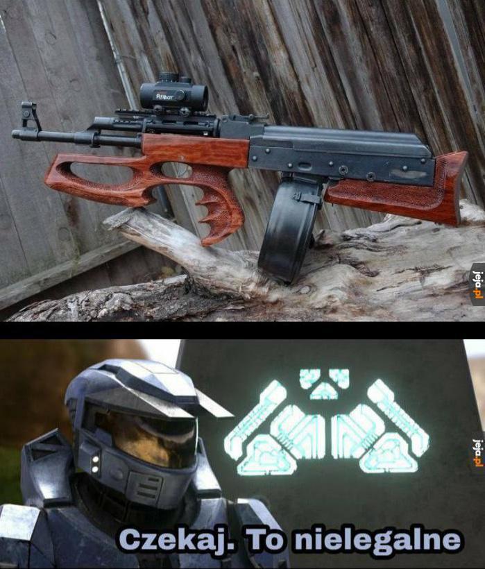 AK47 w układzie bullpup, możesz umierać w spokoju