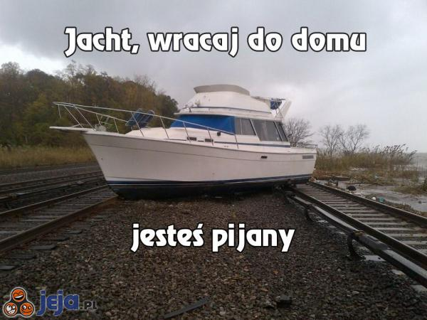 Pijany jacht
