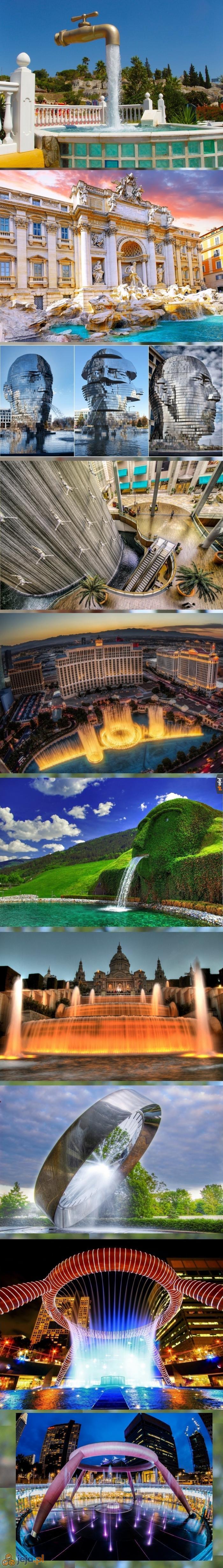 Najpiękniejsze fontanny na świecie