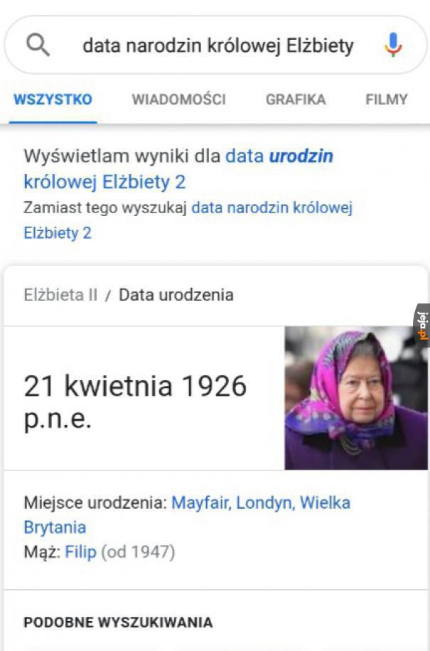 Wujek Google umie w historię starożytną