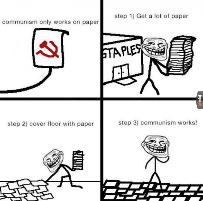 Jak sprawić, by komunizm działał