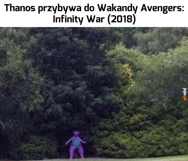 Thanos nadciąga