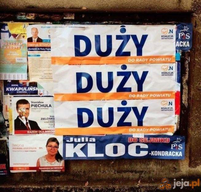 Kampania wyborcza w pełni