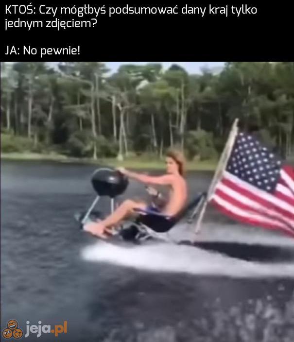 Ameryka na jednym obrazku