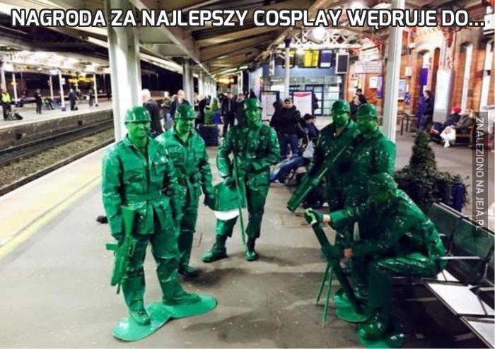 Nagroda za najlepszy cosplay wędruje do...