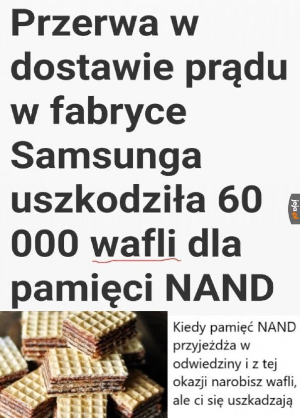Samsung w żałobie
