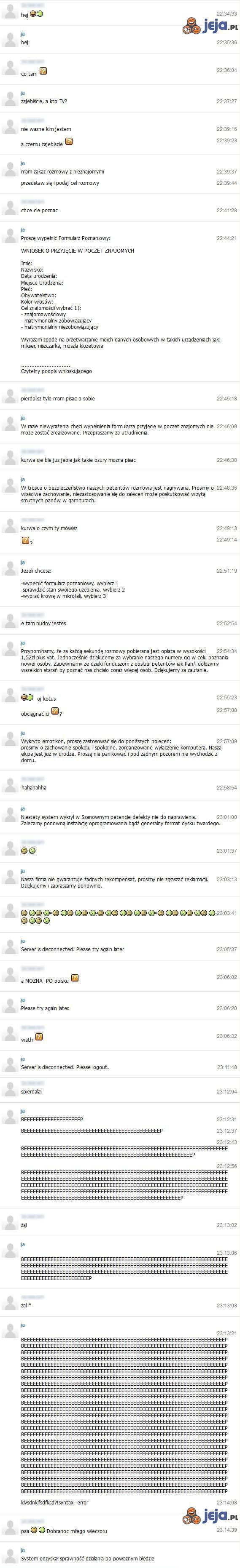 GG trollowanie