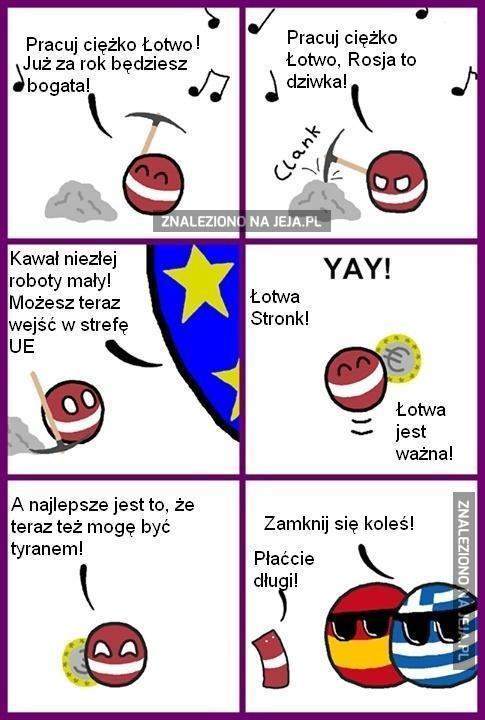 Łotwa tyran