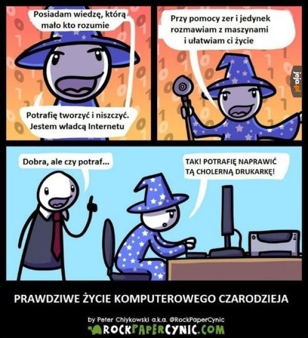 Komputerowy czarodziej
