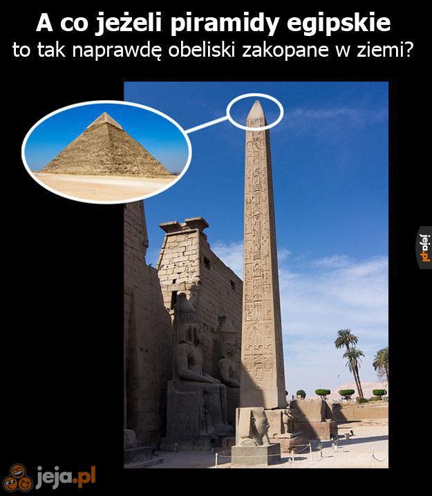W końcu Egipcjanie byli geniuszami
