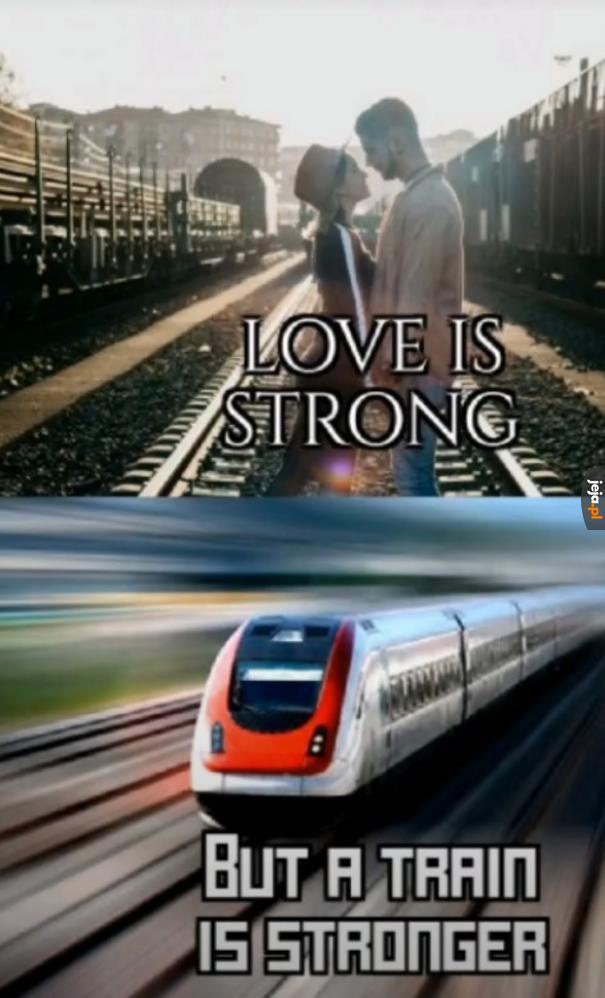 Żaden tani romans nie sprosta potędze ciuchci