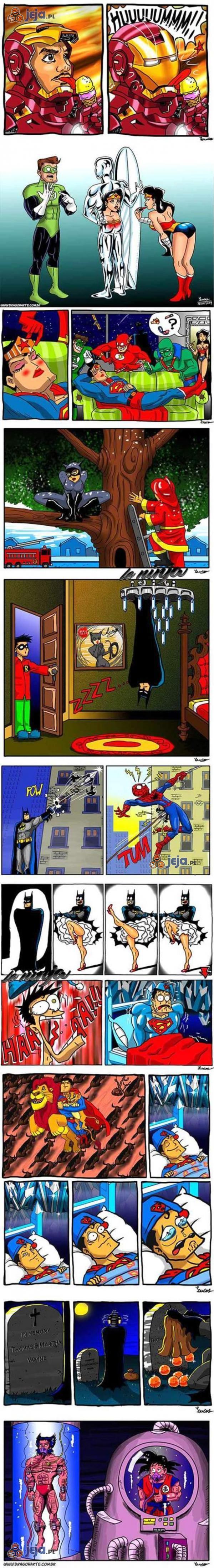 Codzienne życie superbohaterów