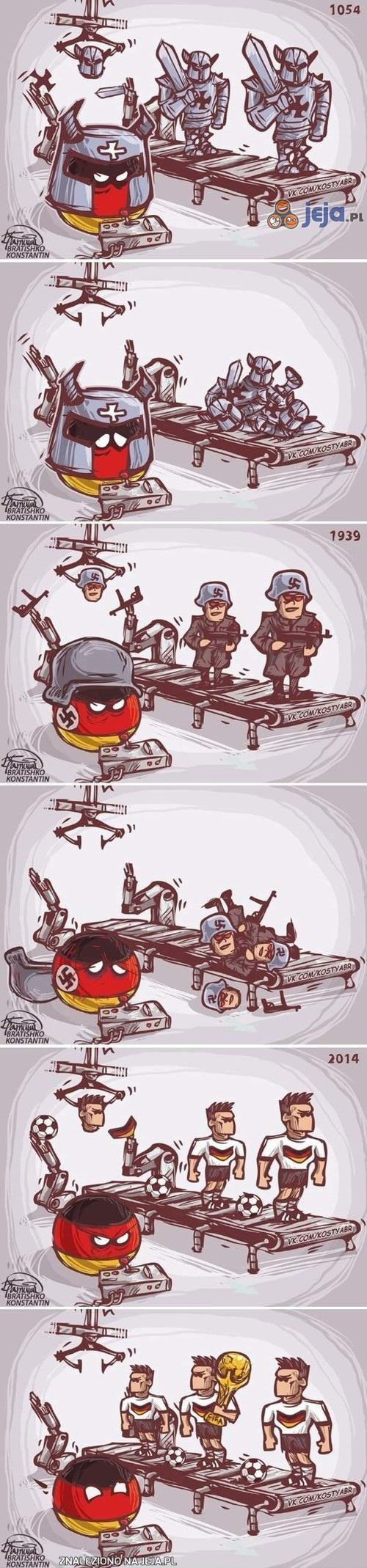 Niestrudzone Niemcy wreszcie zwyciężają