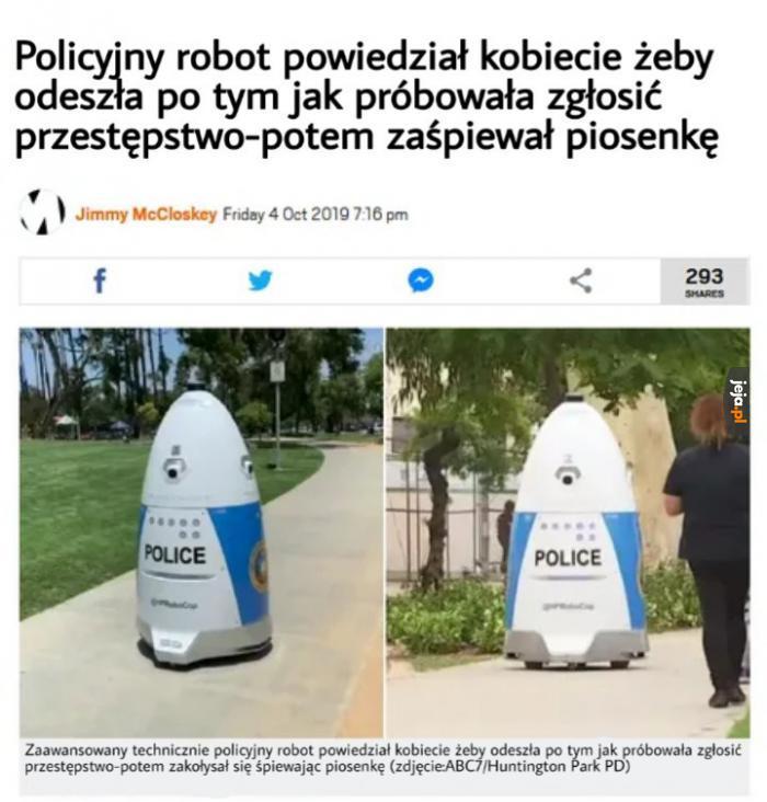 Wesoły robot