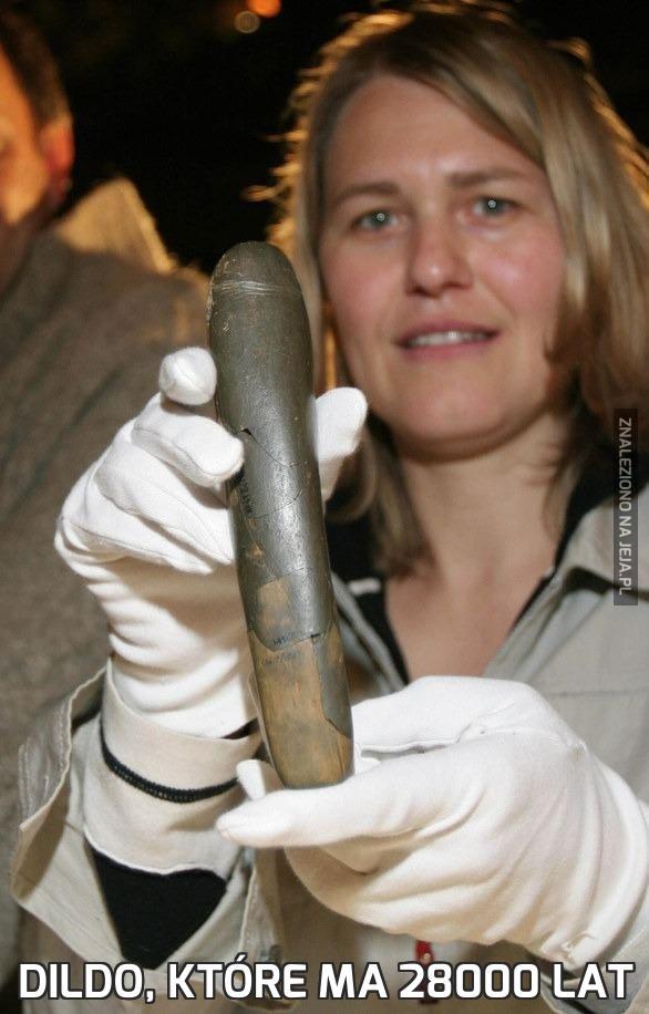 Dildo, które ma 28000 lat